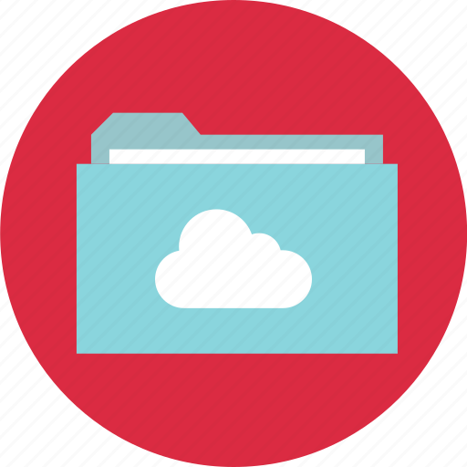 archive, cloud, file, folder, online, save, secure icon