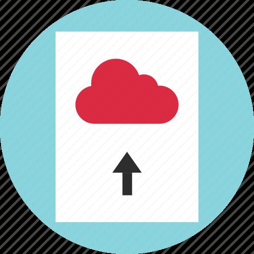 cloud, data, document, file, image, photo, upload icon