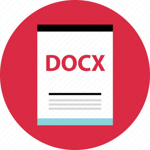 docx, file, name icon