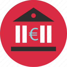 bank, banker, currency, euro, loan, money, wealth icon