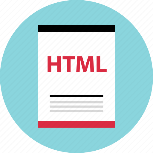 file, html, page icon