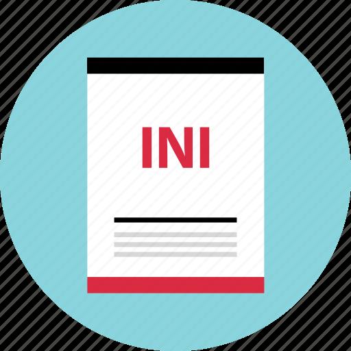 file, ini, name, page icon