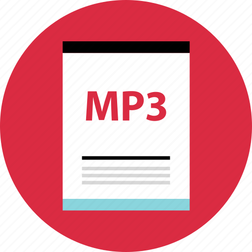 file, mp3, page, type icon