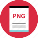 file, name, page, png document icon