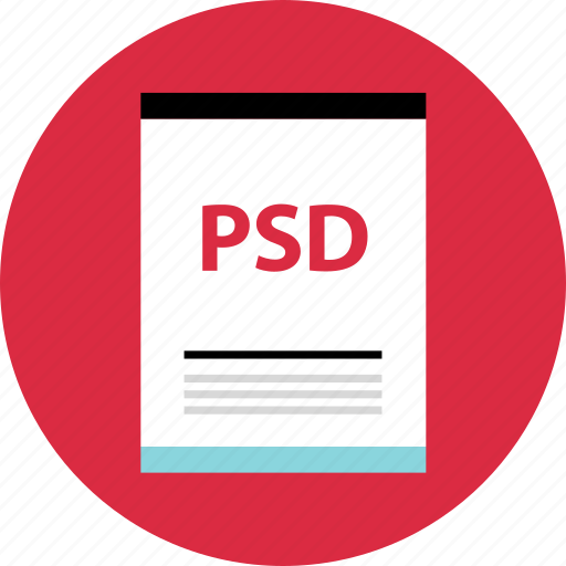 file, name, page, psd icon