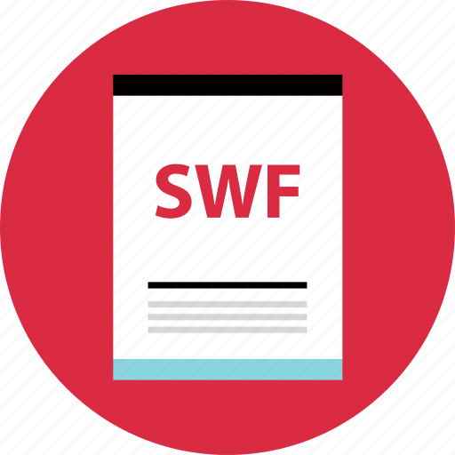 file, page, swf icon