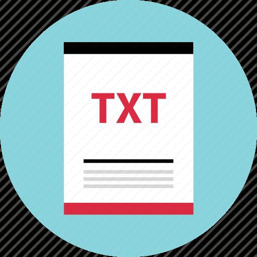 doc, file, page, txt icon