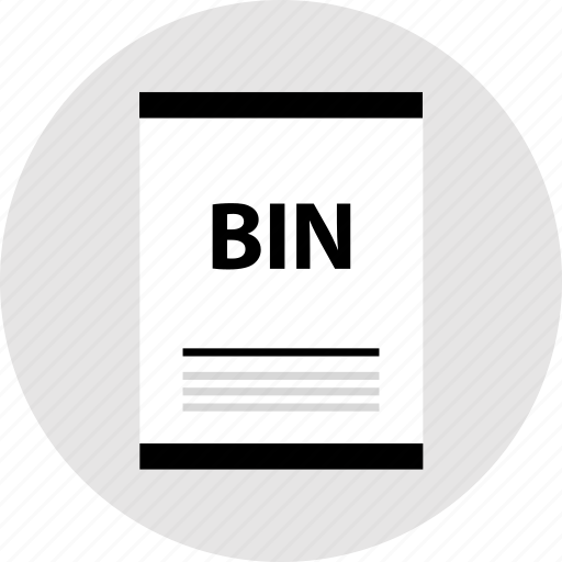 bin, page, type icon