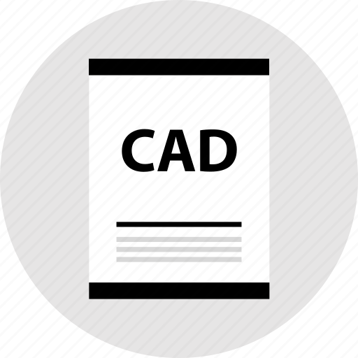 cad, page, type icon