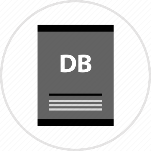 db, page, type icon