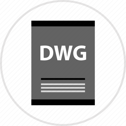 dwg, page, type icon