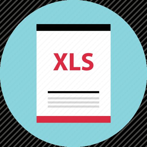 file, name, xls icon