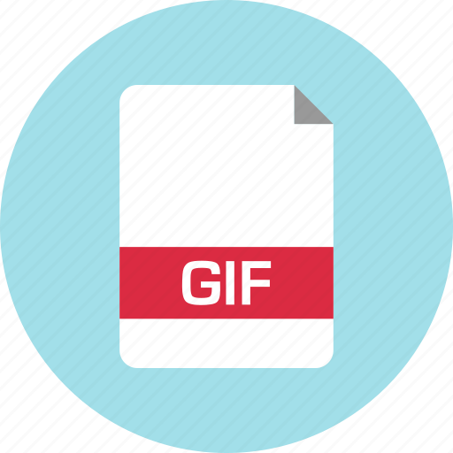 document, file, gif, name icon