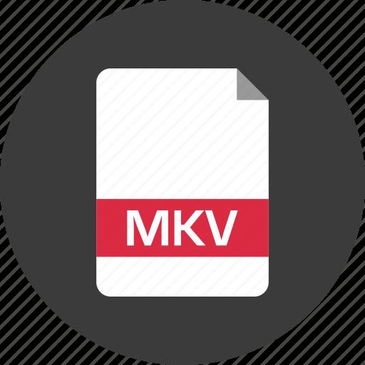 document, file, mkv icon