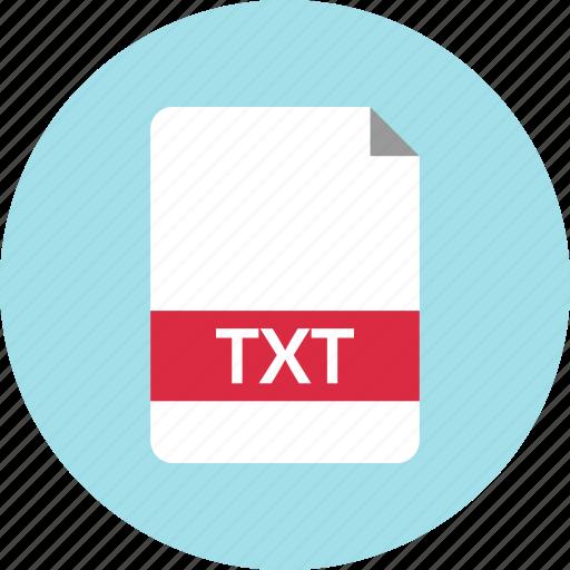 document, file, txt icon