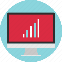 bars, business, good, graph, growing, high, results icon
