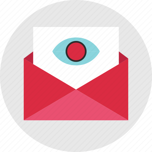 email, eye, find, look, mail, results, search icon