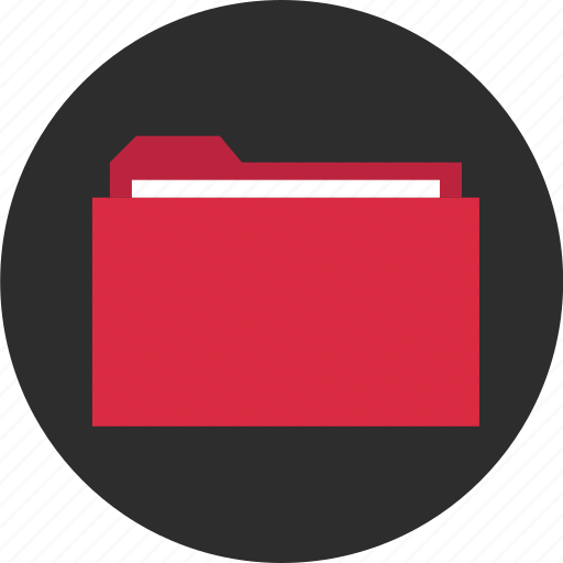 archive, circle, file, folder, guardar, hot, save, stored icon