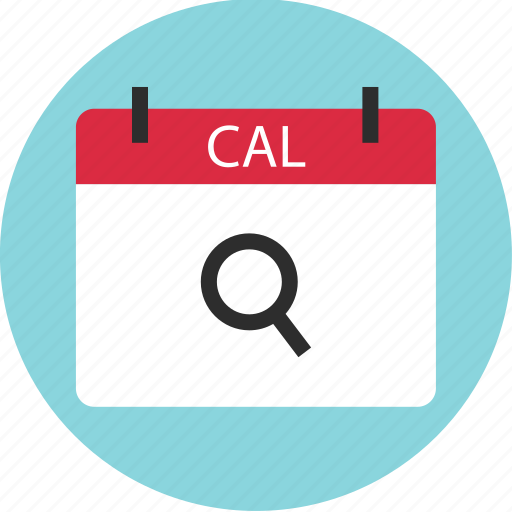 appointment, calendar, date, event, online, search, web icon