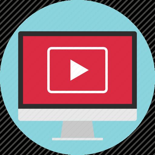 internet, media, online, play, video, web, youtube icon