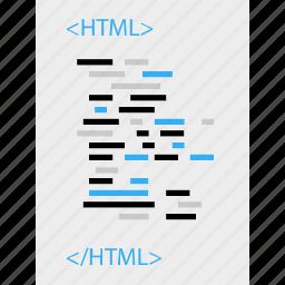business, code, development, programming, web icon