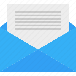 business, email, envelope, letter, mail, write icon
