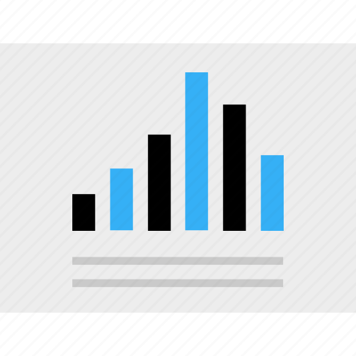 bars, business, chart, graph, report icon