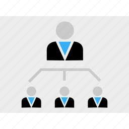 business, ceo, group, leadership, team icon