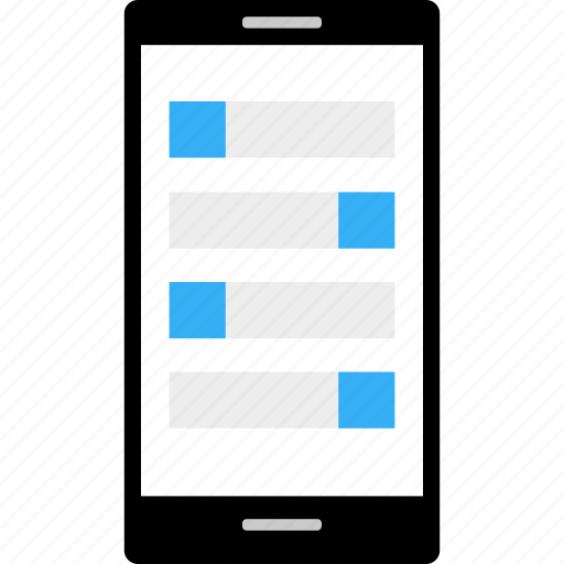 business, cell, data, instant, message, wireframe icon