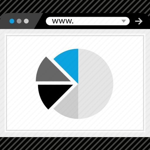 chart, graphic, web, www icon