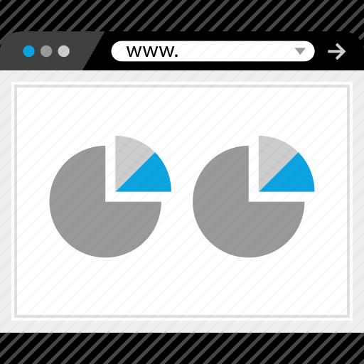 chart, web, www icon