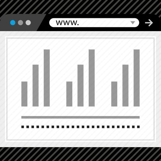 data, graphic, web, www icon