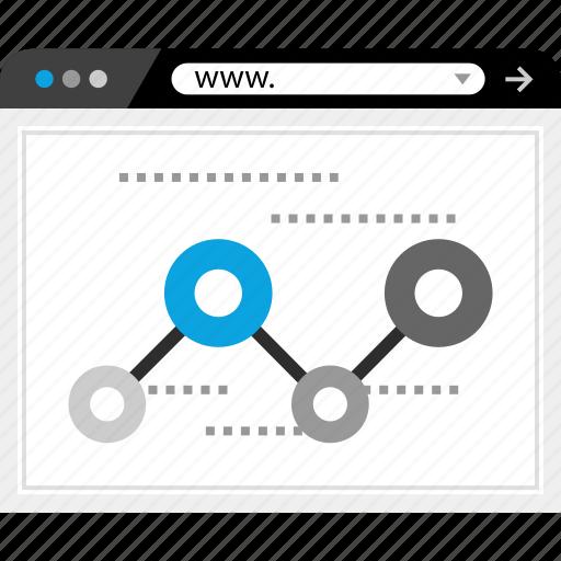 data, facebook, search, web icon