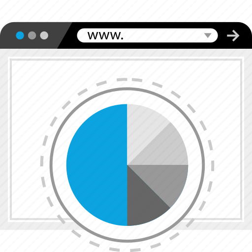 Www, graphic, chart icon