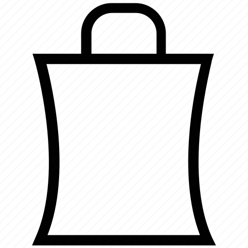 bag, carrier bag, paper bag, shopping, shopping bag icon