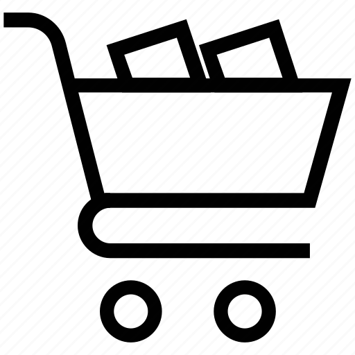 commerce, ecommerce, shopping, shopping cart, supermarket, trolley icon