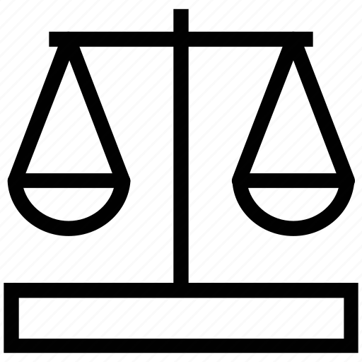 balance scale, justice, justice sign, law, law scale, scale, scale of justice icon