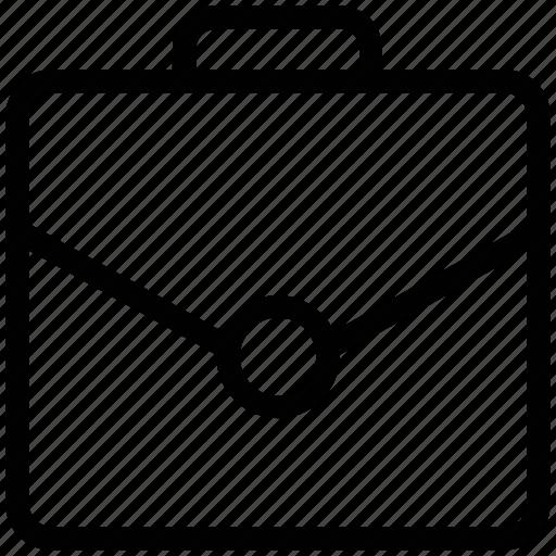business bag, business case, file folder, official bag, portfolio icon
