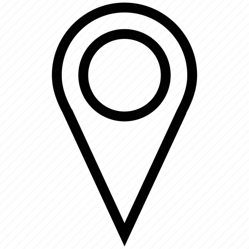 gps, location finder, locator, map marker, map pin, map pointer icon
