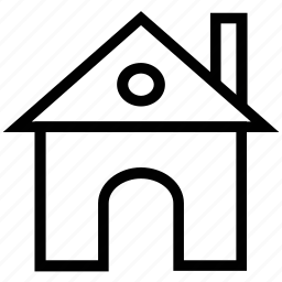 home, house, hut, residence, rural house, shack, villa icon
