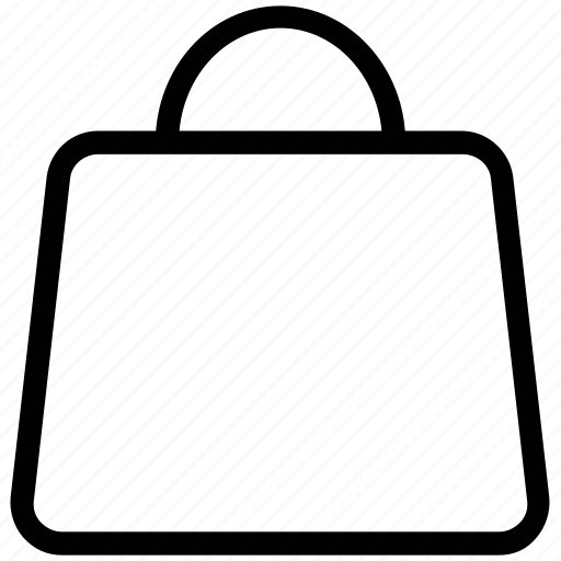 bag, carrier bag, paper bag, shopping bag shopping icon