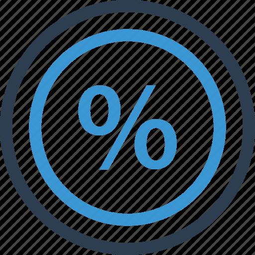 interest, rate, revenue icon
