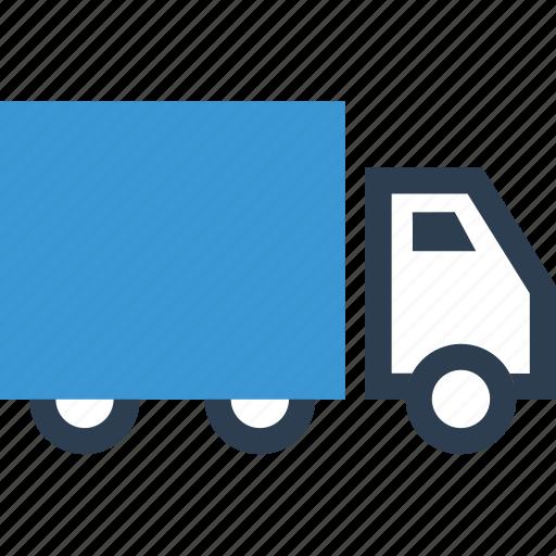 ship, shop, truck icon