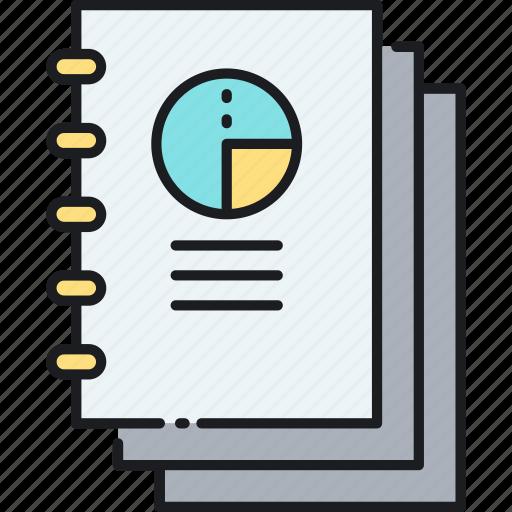 annual, annual report, report icon
