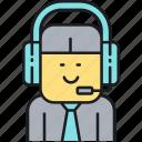 call center, customer, help, representative, service, support