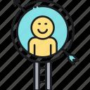 head hunting, headhunting, target icon
