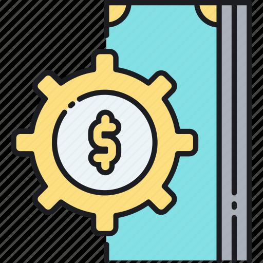 cash, income, money icon
