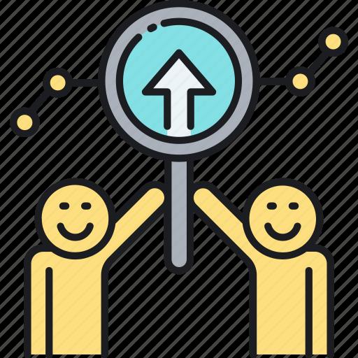 forecast, market, predict, prediction, trend icon