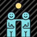 friends, partners, partnership