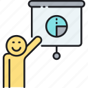 chart, graph, pie chart, presentation